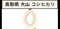 鳥取県 大山 コシヒカリ